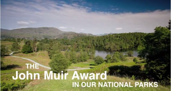 John muir award and our national parks film screen grab link